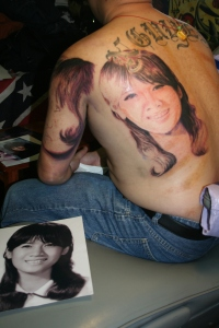 Four Big Portraits Tattoo