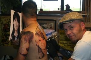 Four Big Portraits Tattoo