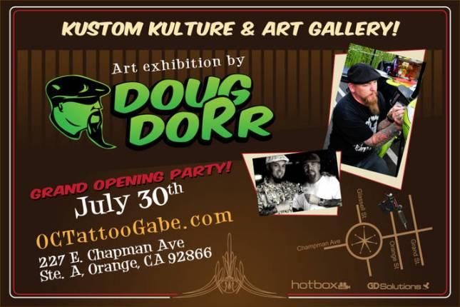 Orange Circle Tattoo & Art Gallery Grand Opening Party