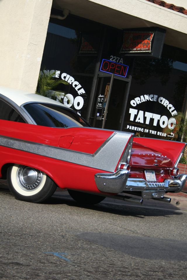 `58 PLYMOUTH TATTOO